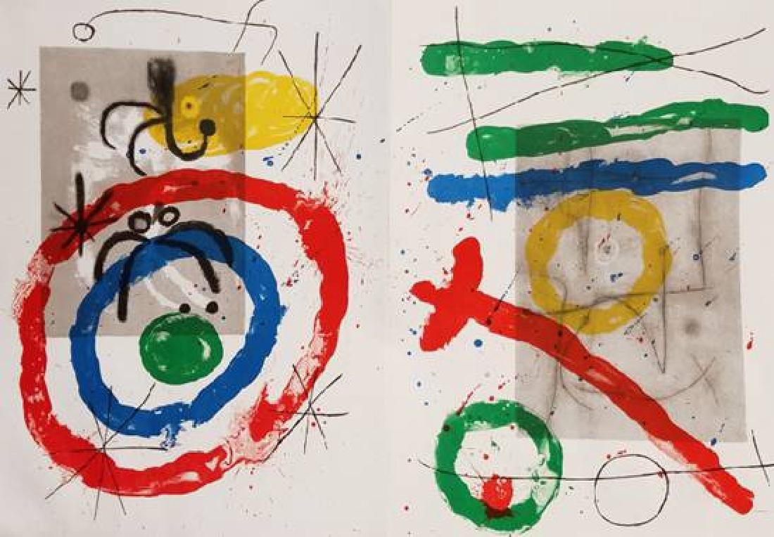 Joan Miro Original Lithograph Bookplate