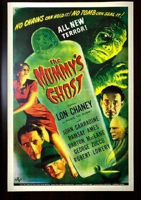 1944 The MummyÂ's Ghost Movie Lobby Card Poster