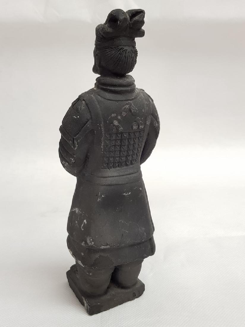 Black Japanesse Terracotta Warrior - 2
