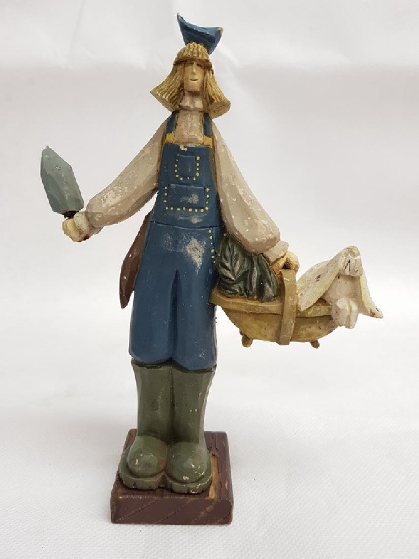Terracotta Dutch Figurine