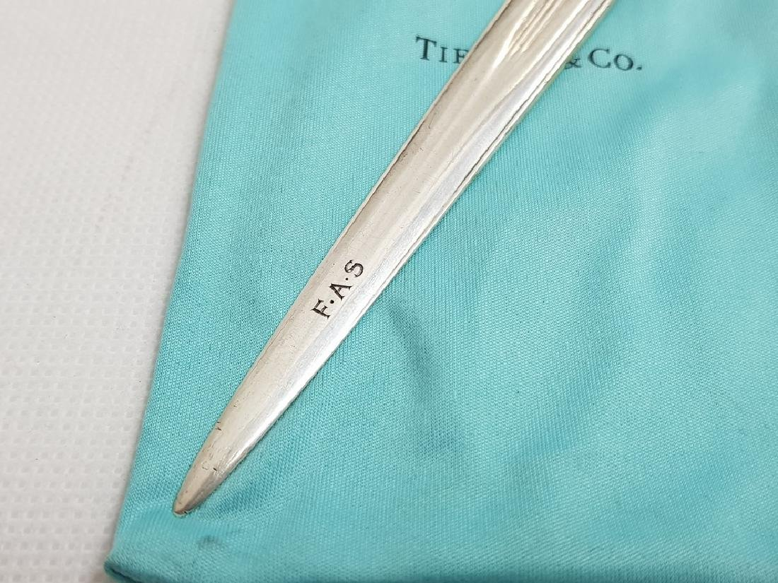 TIFFANY AND COMPANY STERLING SILVER LETTER OPENER - 2