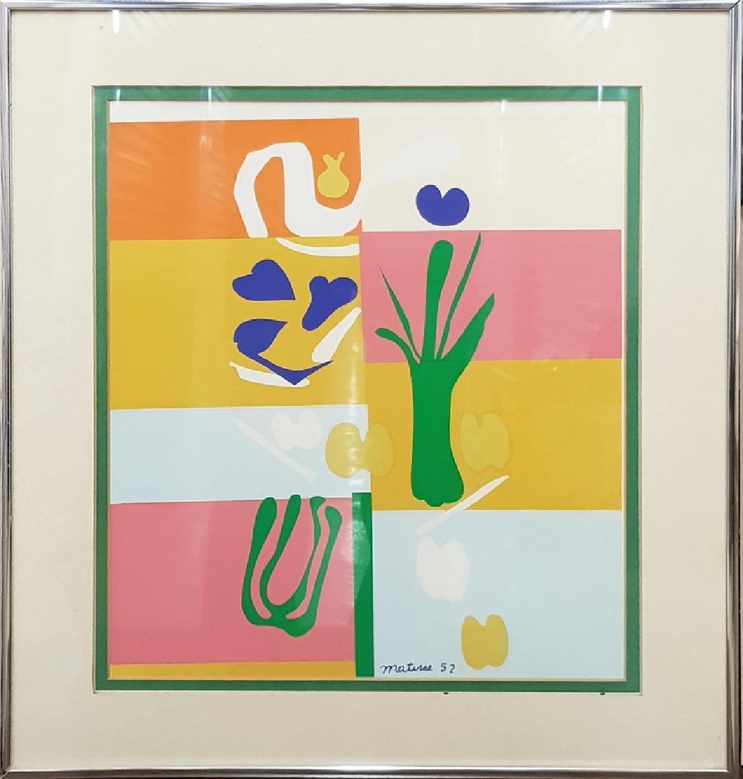 Matisse Framed  lithograph