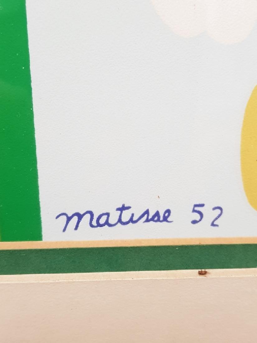Matisse Framed  lithograph - 2