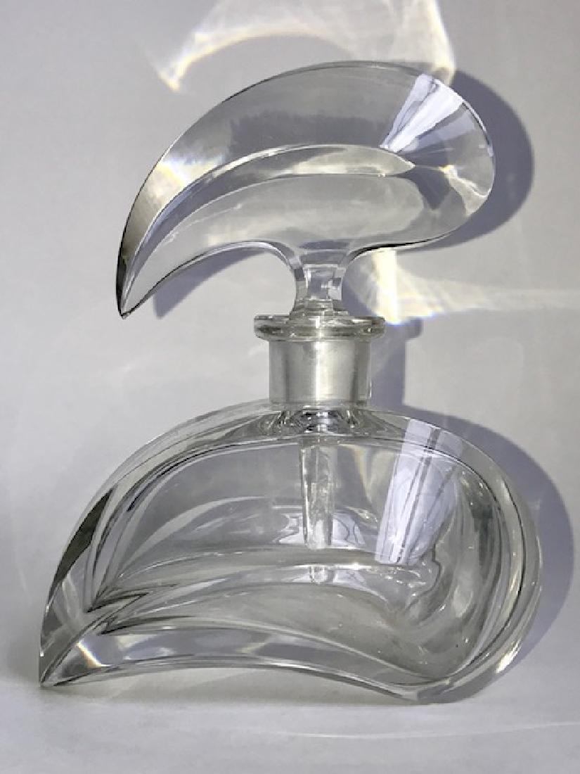 Stunning Brilliant Heavy Crystal Perfume Bottle