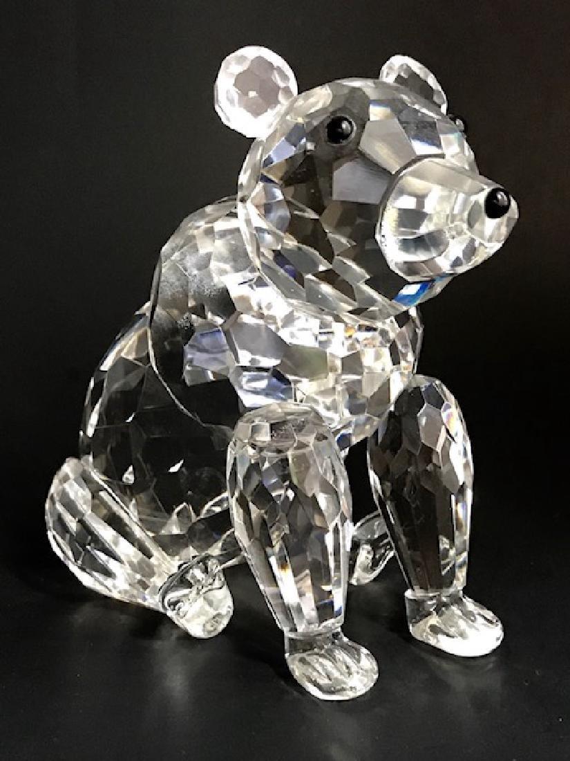 Large SHANNON Irish Crystal Swarovski style Bear