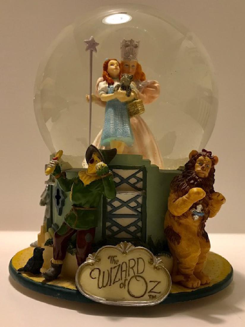 Vintage Wizard of Oz Working Musical SNO-GLOBE