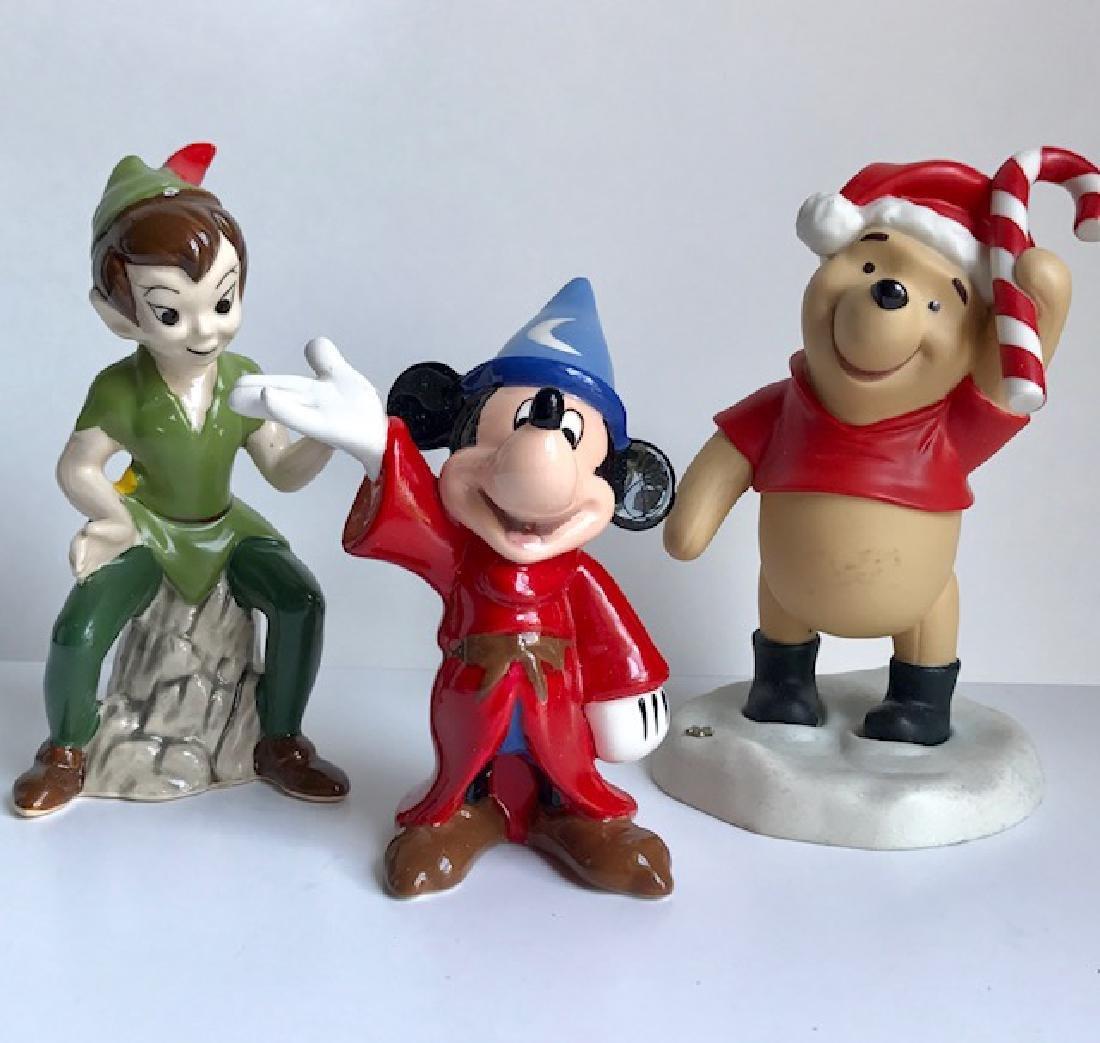 Lot of 3 Vintage Disney Porcelain Figurines