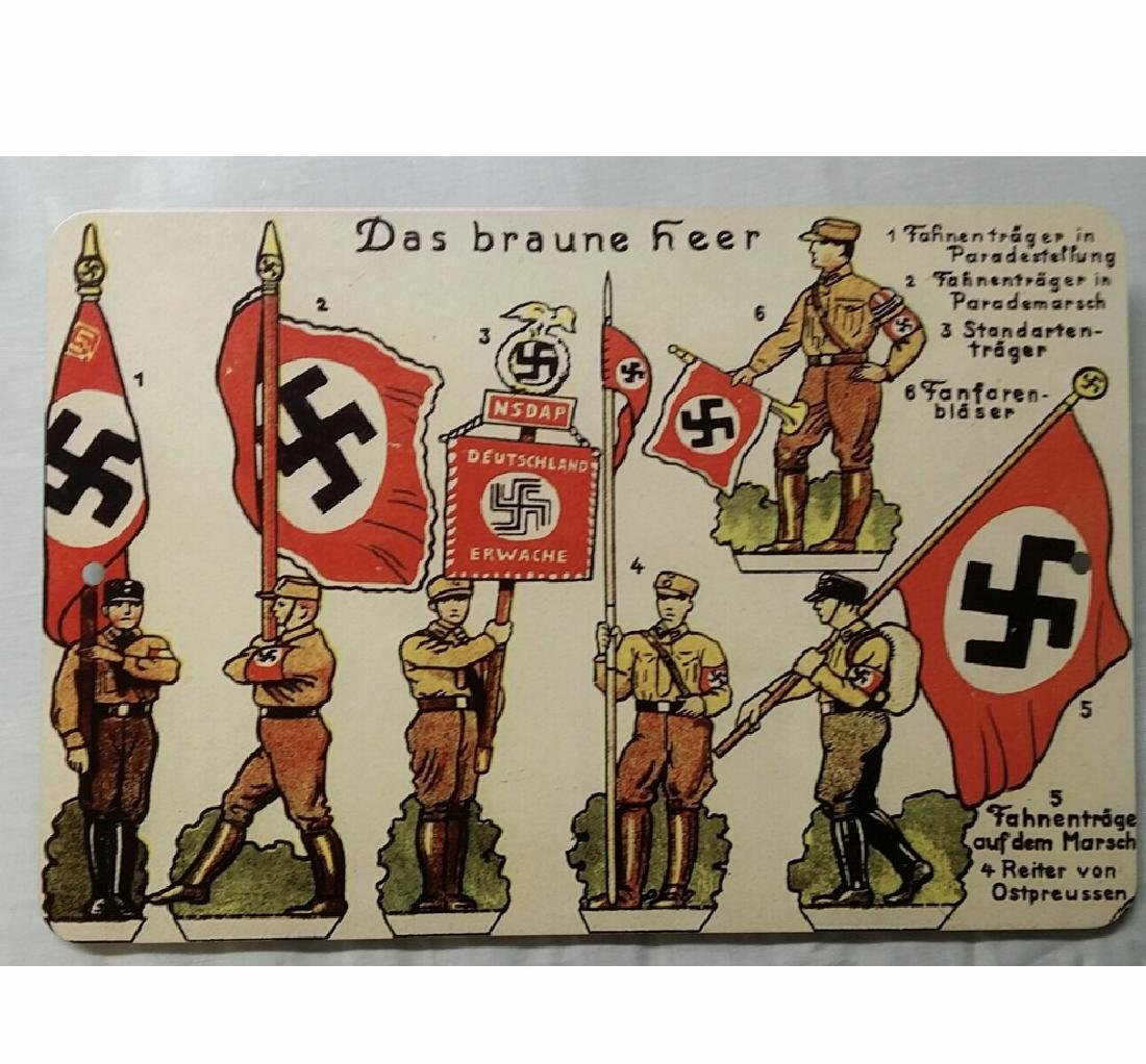 NAZI Germany War Time Imagery Metal Sign
