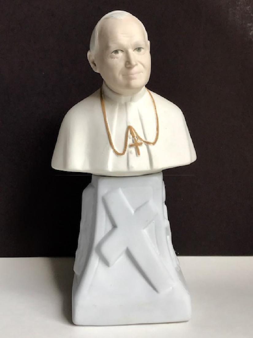 Rare Signed Pope John Paul II Porcelain Figure/SPAIN
