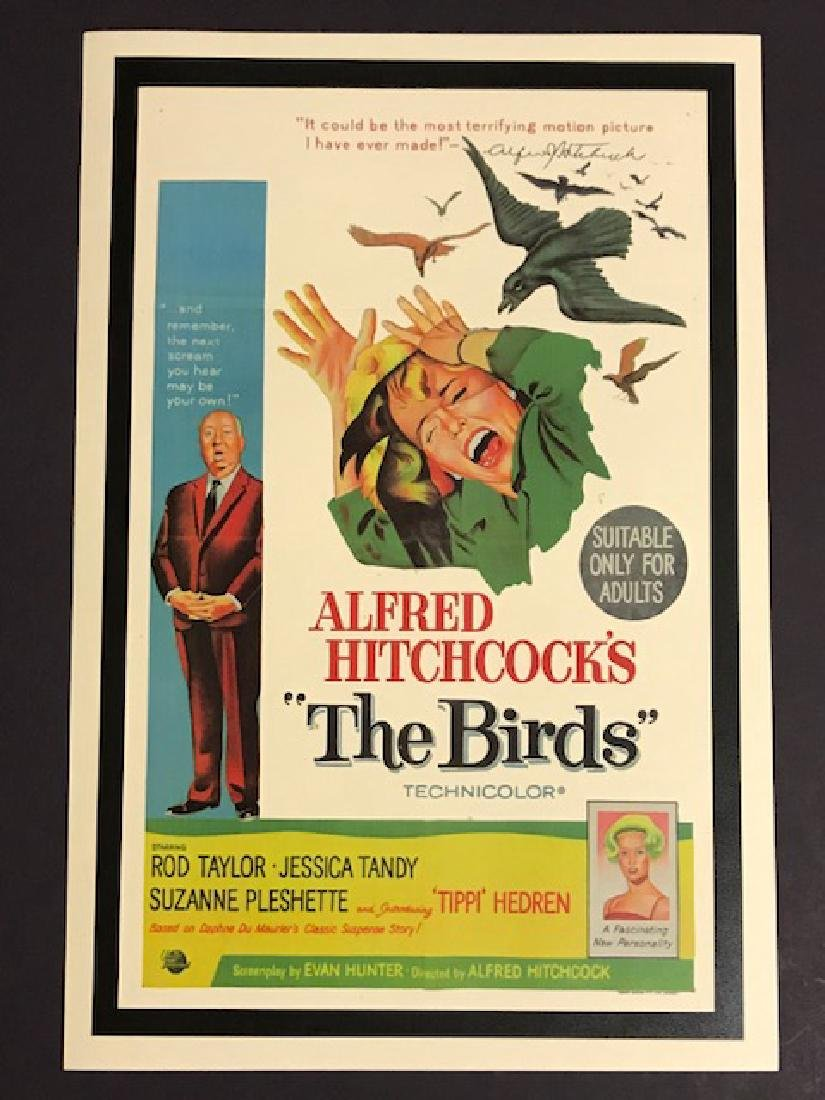 Alfred Hitchcock's The BIRDS Movie Lobby Poster