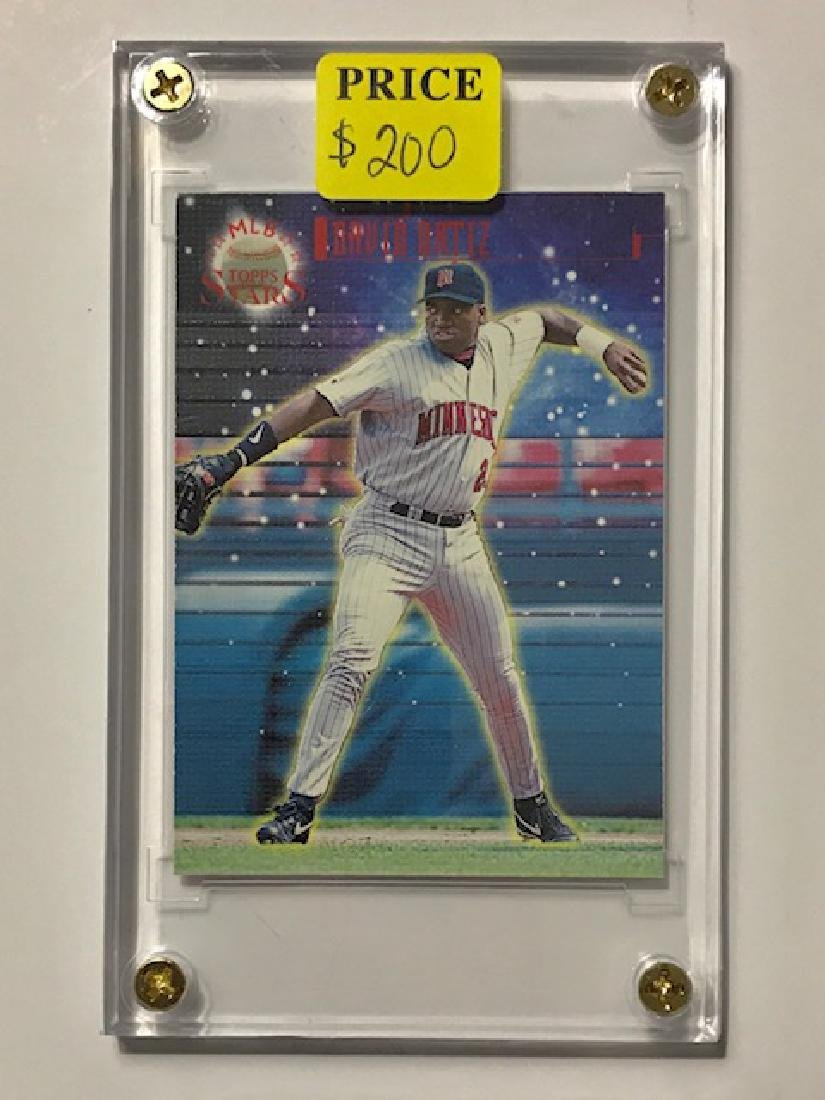 "Mint David ""BIG PAPI"" Ortiz Rookie Baseball Card"