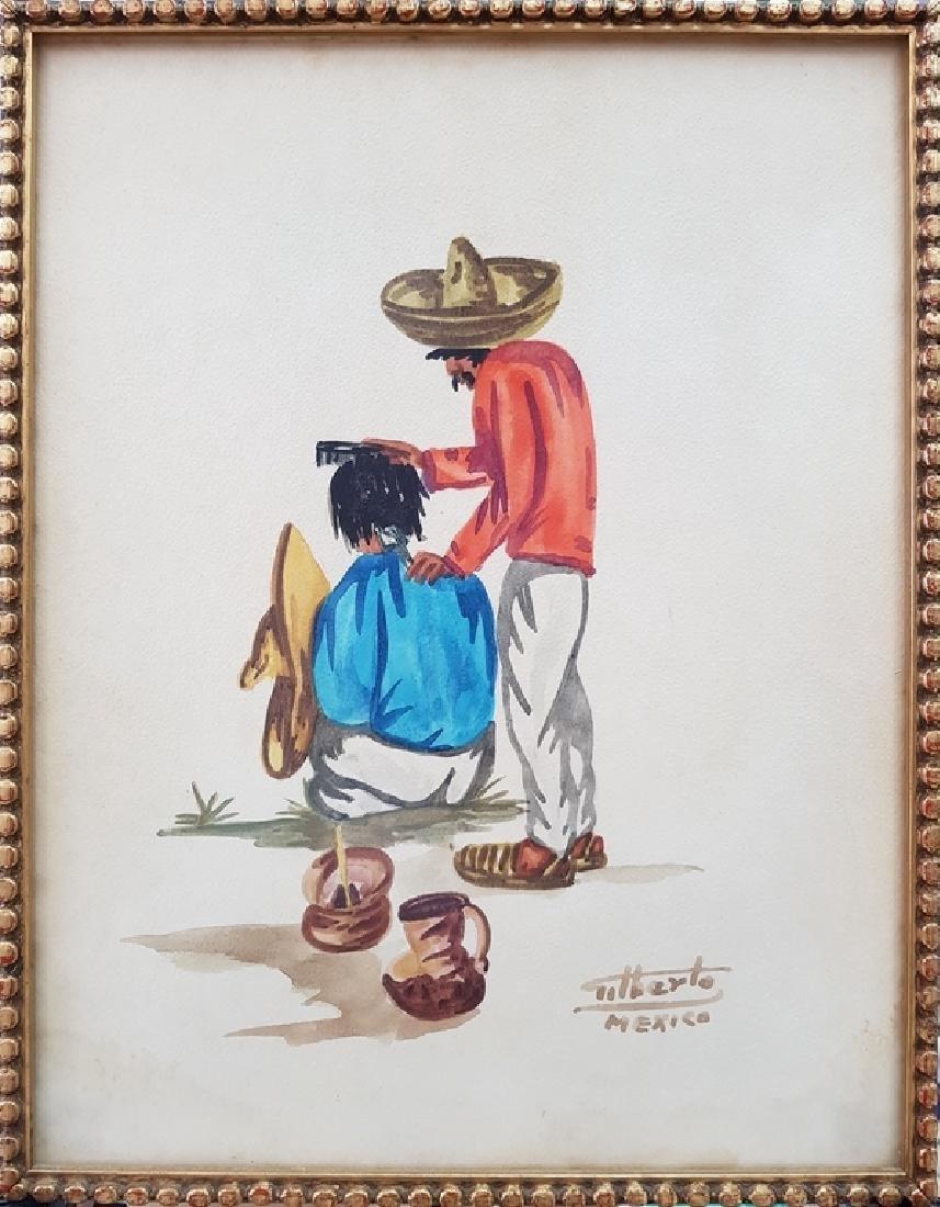 ALBERTO MEXICO WATERCOLOR