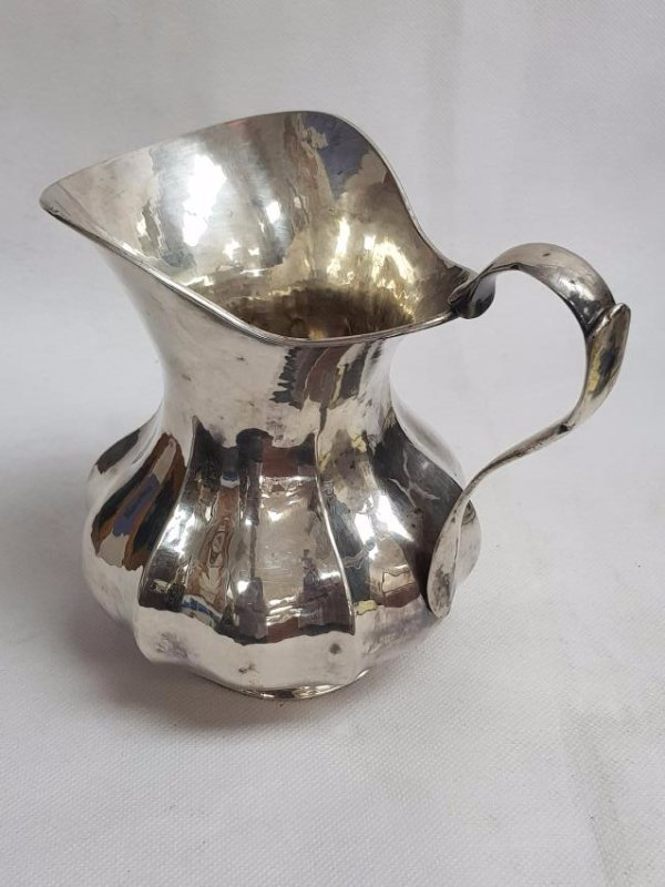 VINTAGE STERLING SILVER WATER PITCHER - 2