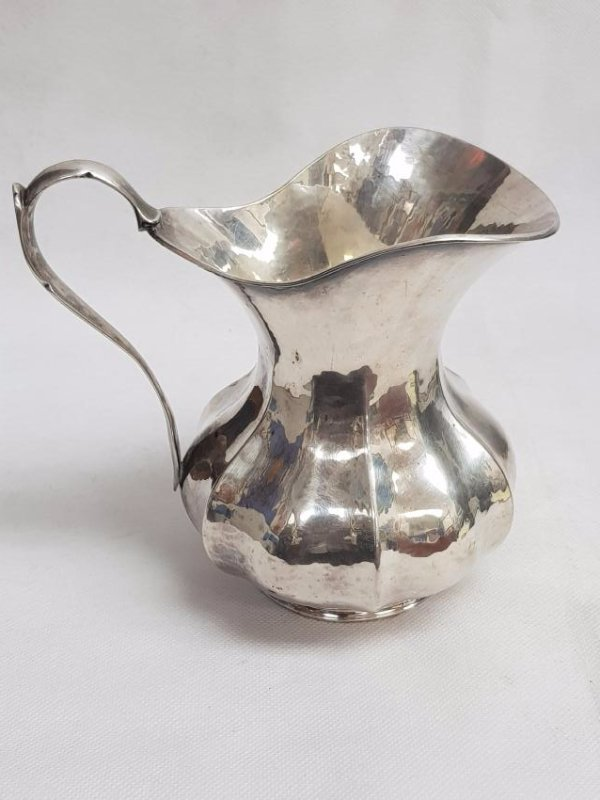 VINTAGE STERLING SILVER WATER PITCHER - 3