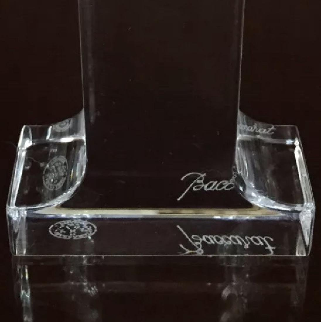 Rare BACCARAT Crystal 1st Baby or Anniversary Symbol - 2