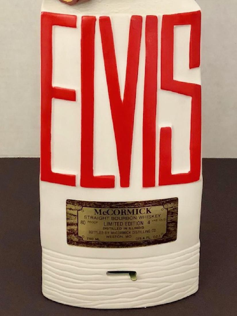 Rare 1968 ELVIS PRESLEY Porcelain Musical Decanter - 3