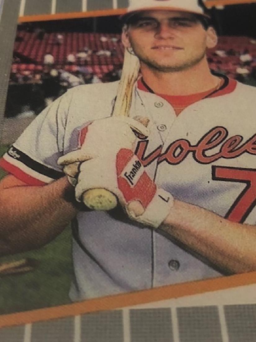 """Lot of 2 Error """"FUCK FACE"""" Billy Ripken Baseball Cards - 3"""