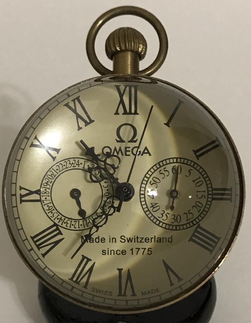 LG Swiss Omega Working Spherical Mechanical Clock