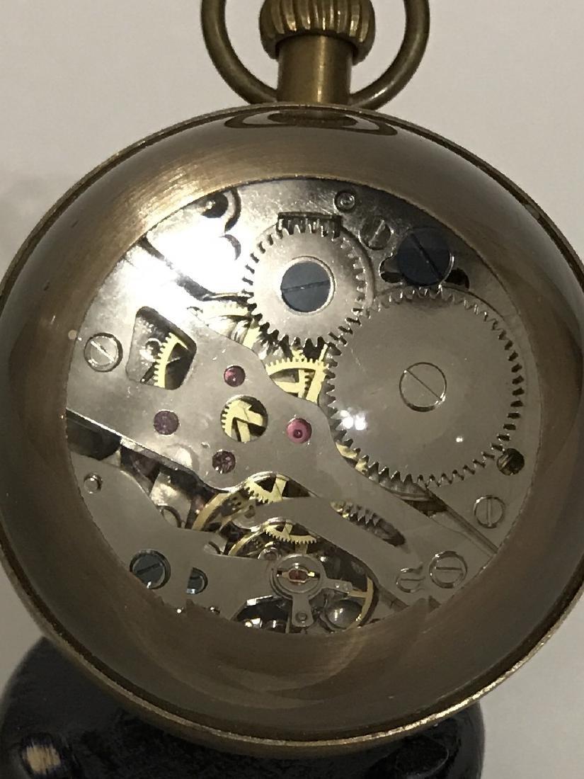 LG Swiss Omega Working Spherical Mechanical Clock - 2