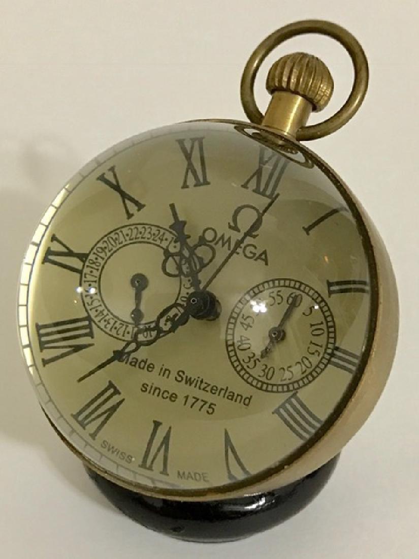 LG Swiss Omega Working Spherical Mechanical Clock - 3