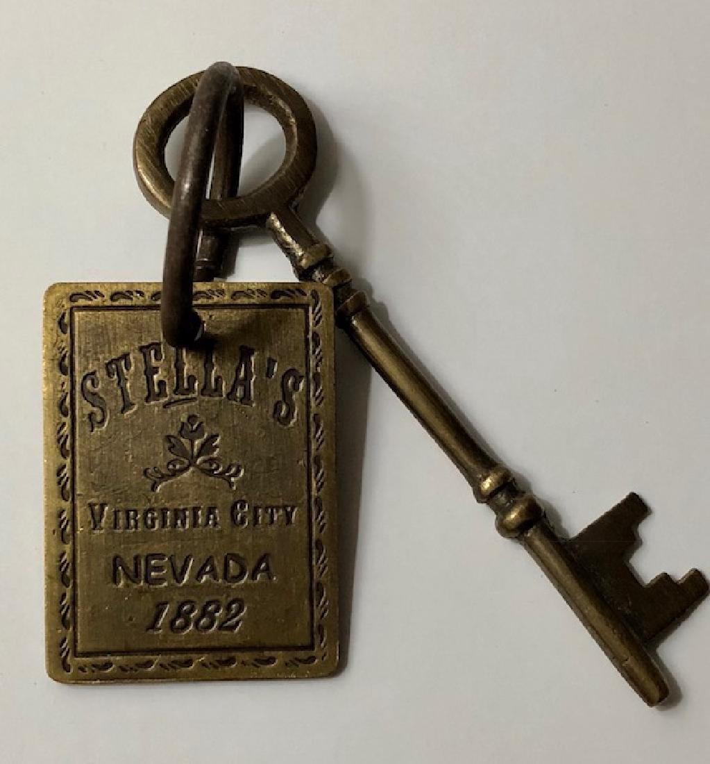 1882 Stella's - Whorehouse Brothel Room Key