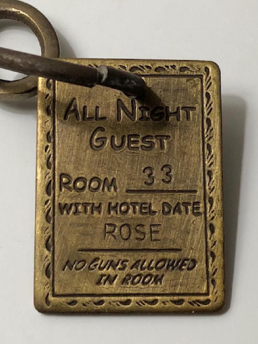 1882 Stella's - Whorehouse Brothel Room Key - 2