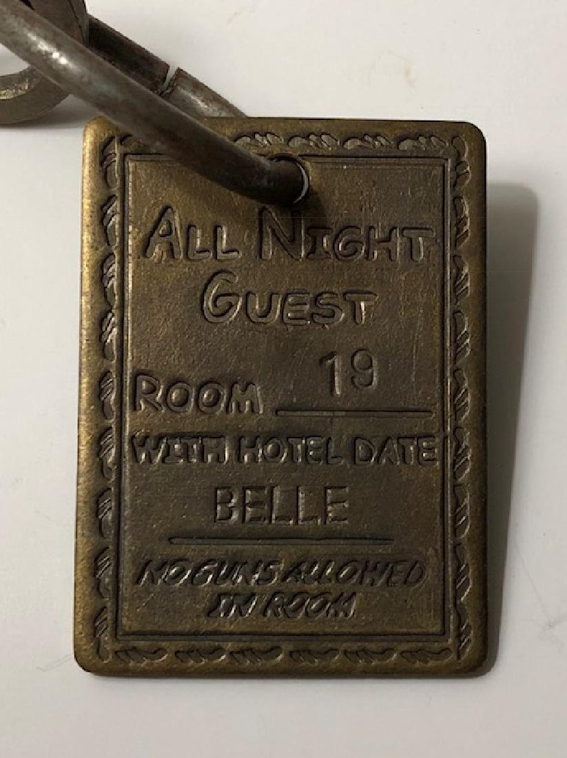 1885 Lil's House - Whorehouse Brothel Room Key - 2