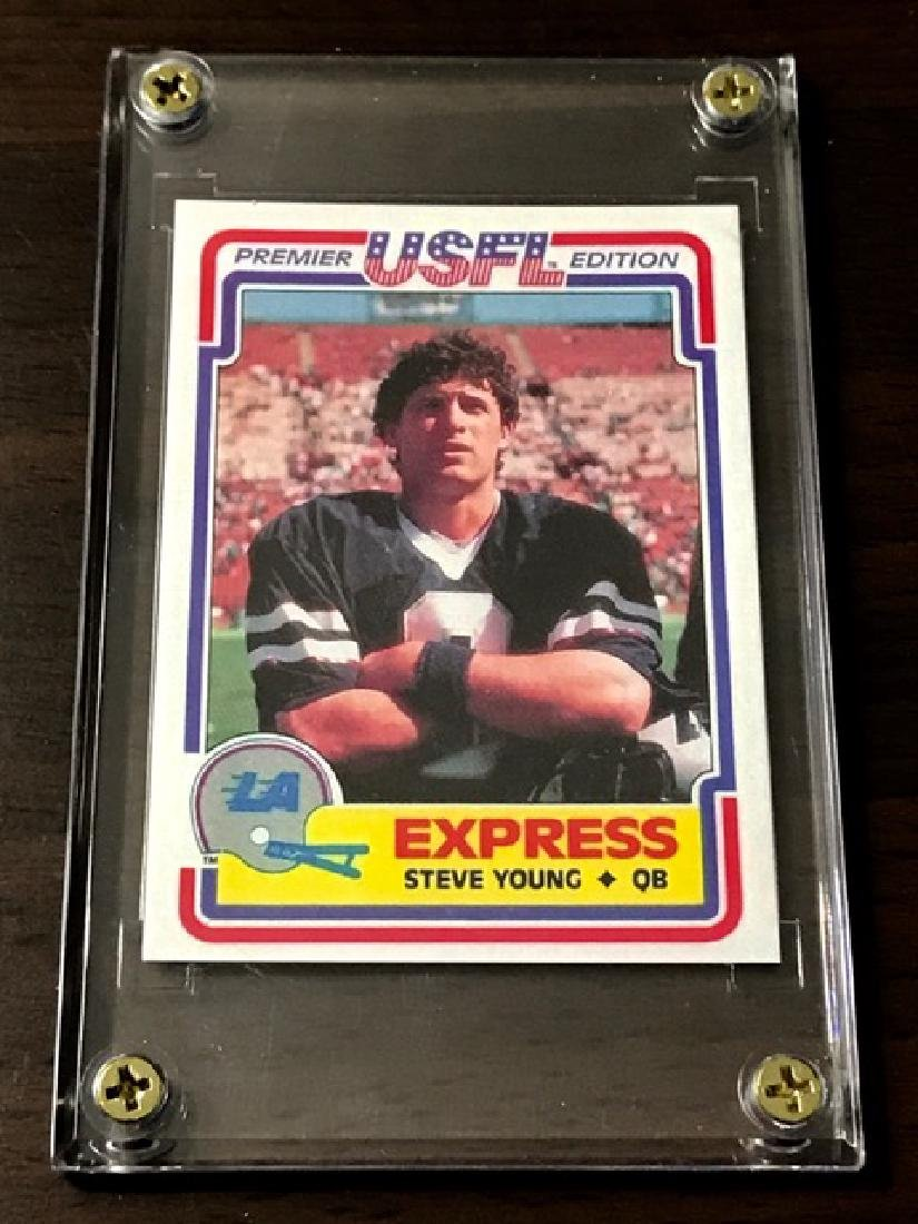 1984 USFL - STEVE YOUNG Rookie Card
