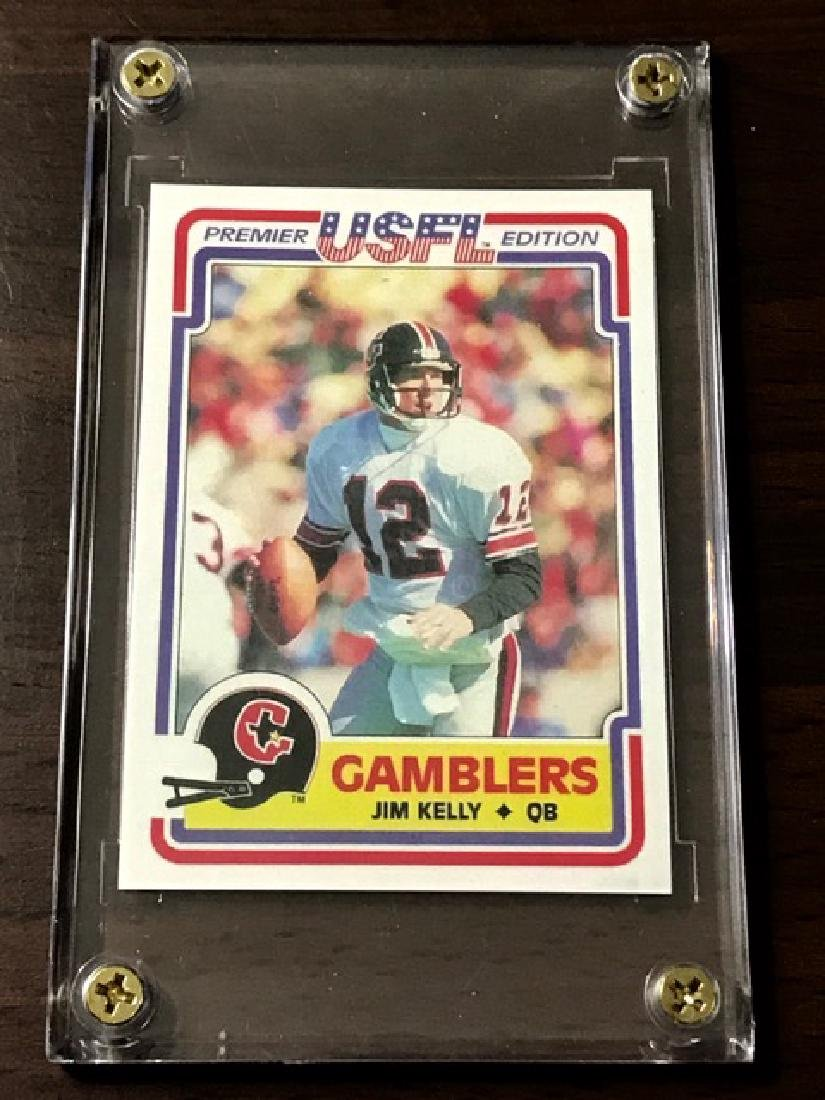 1984 USFL - JIM KELLY Rookie Card
