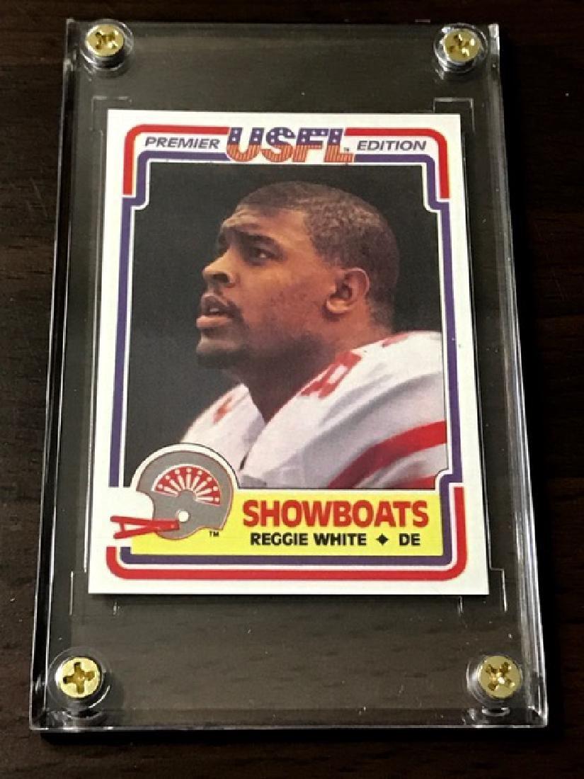 1984 USFL - REGGIE WHITE Rookie Card