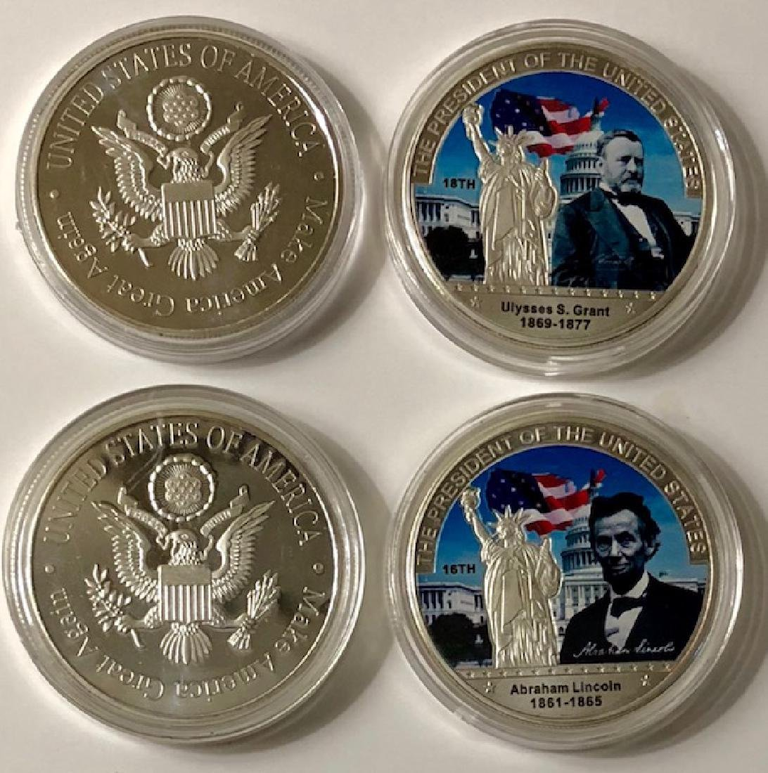 Abraham Lincoln & Ulysses S. Grant Presidential Coins