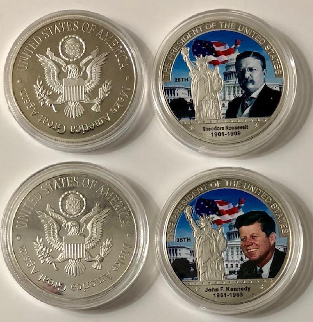 John JFK Kennedy & Theodore Roosevelt Presidential