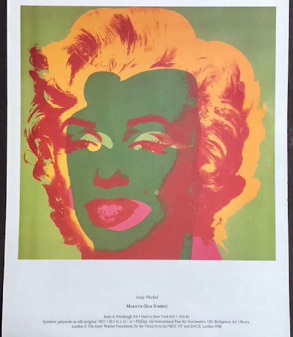 Andy Warhol Print Lithograph of MARILYN MONROE - 2