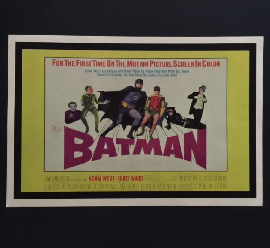 1960's BATMAN Movie Theatre Lobby Card Poster