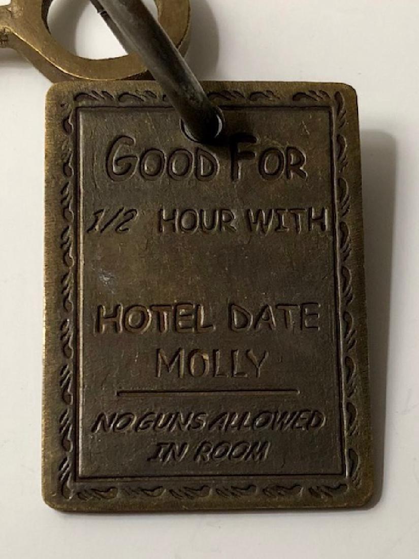 1886 Gem's Saloon - Whorehouse Brothel Room Key - 2