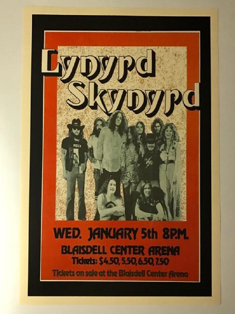 "LYNYRD SKYNYRD Live in Concert Poster 12"" x 18"""