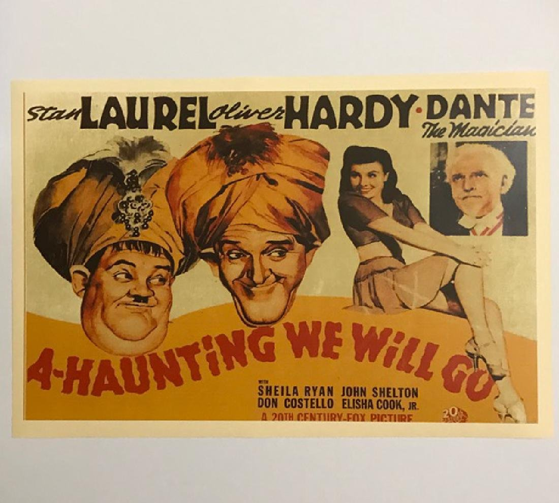 LAUREL & HARDY Movie Theatre Lobby Card Poster