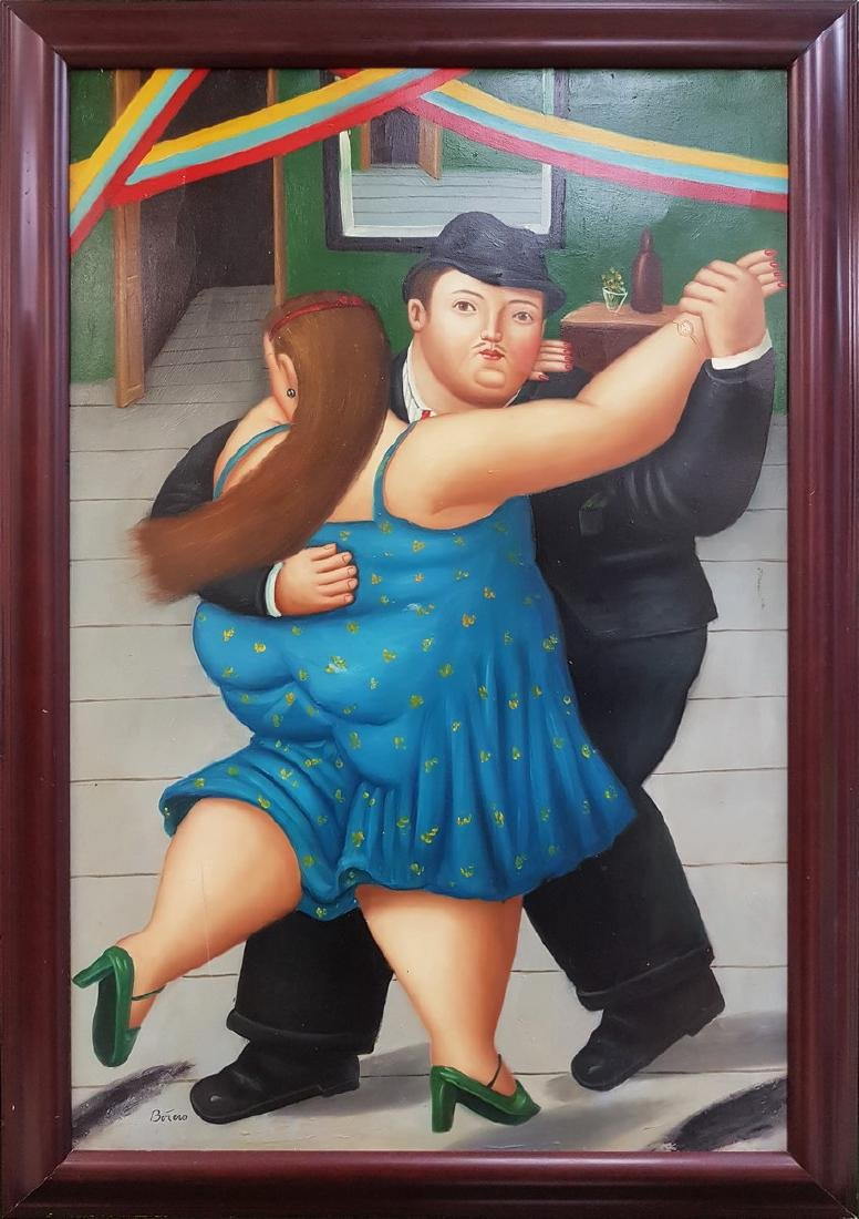 BOTERO OIL ON CANVAS