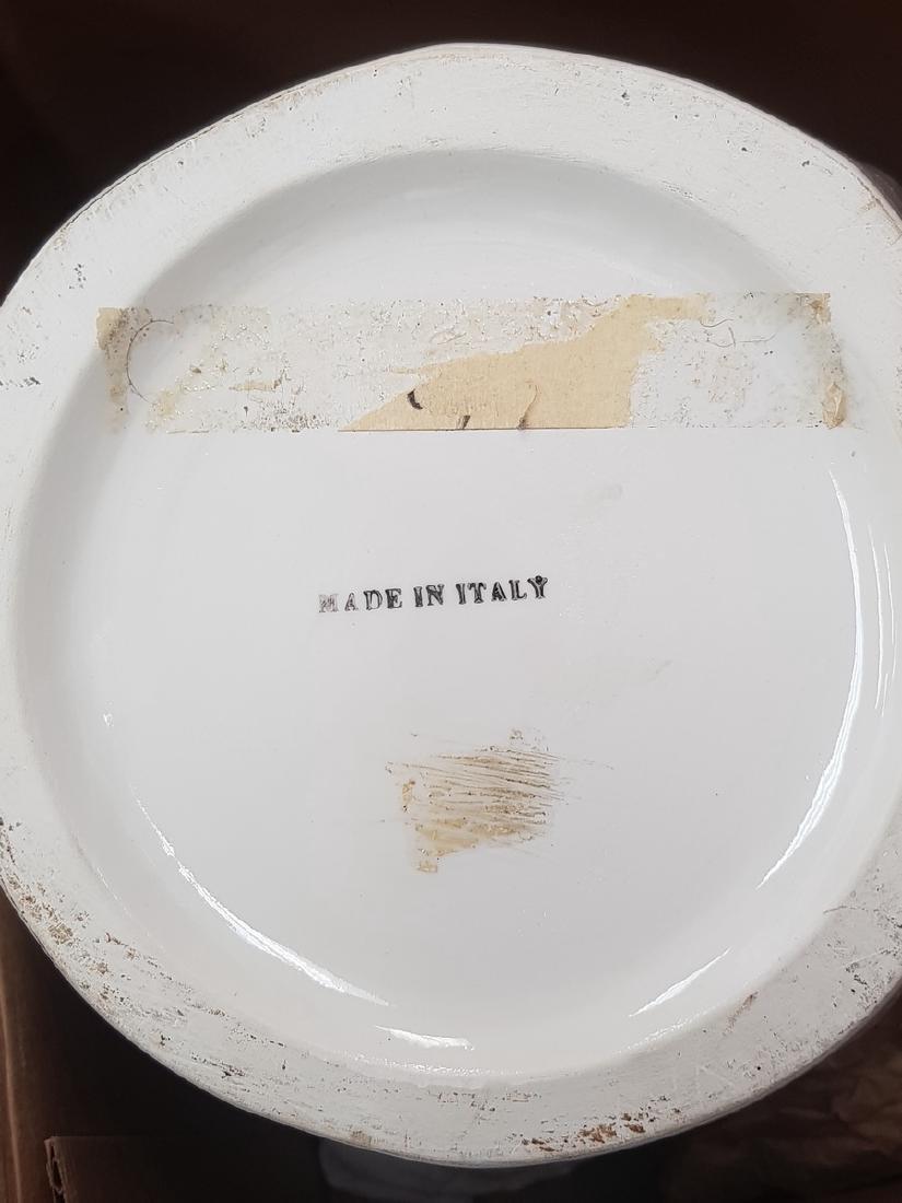 ITALIAN PORCELAIN LIDDED VASE - 2