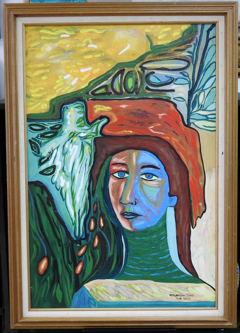 Mendoza 2003 oil on canvas