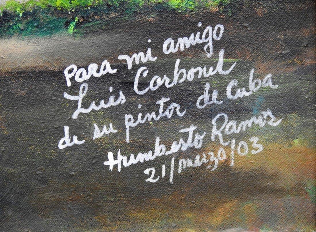HUMBERTO RAMOS HERNANDEZ (Cuban, b. 1949) - 2