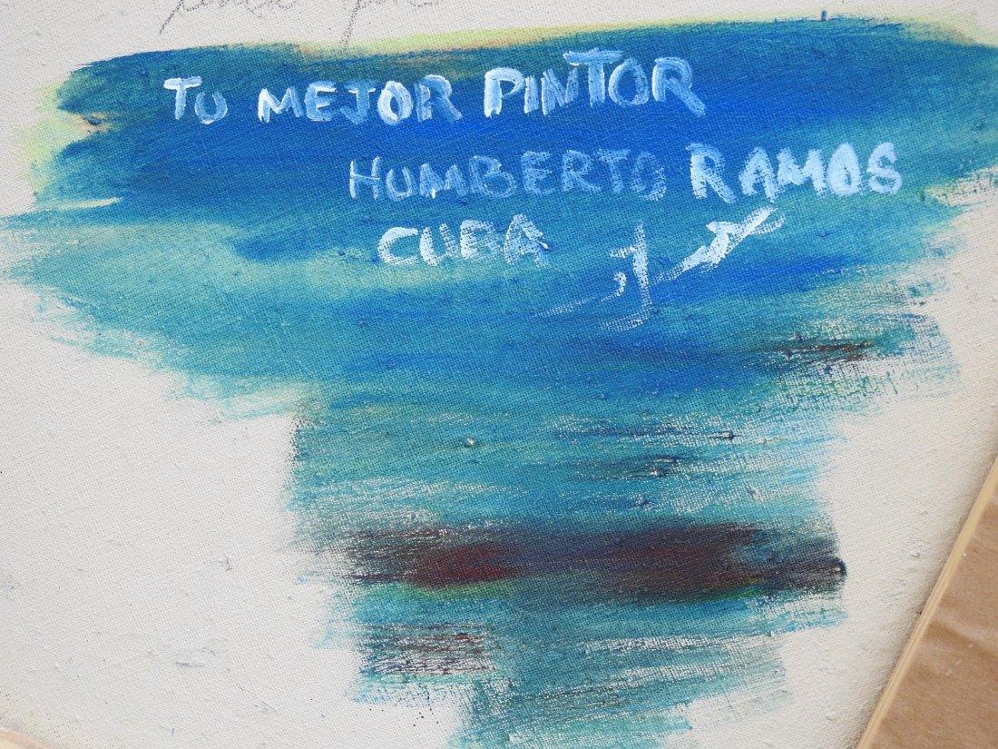HUMBERTO RAMOS HERNANDEZ (Cuban, b. 1949) - 5