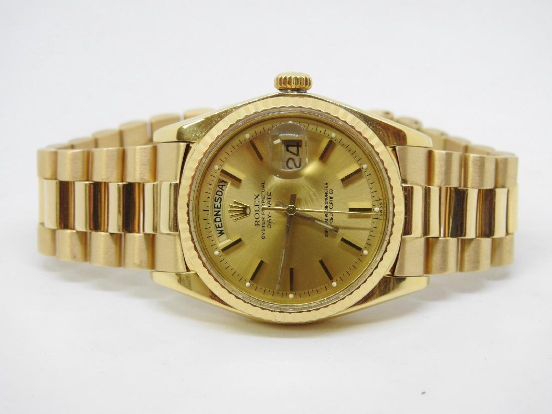 ROLEX DAY DATE GOLD WATCH