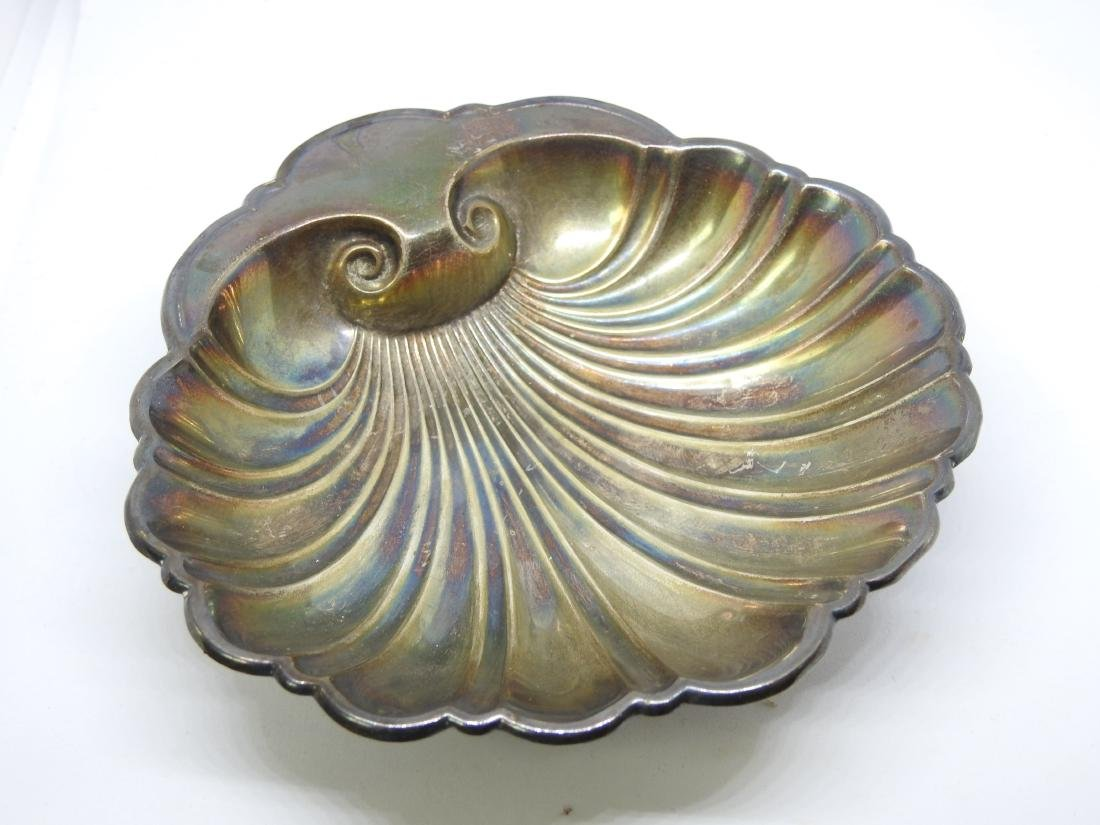 GORHAM OYSTER SHELL Dish Bowl STERLING SILVER