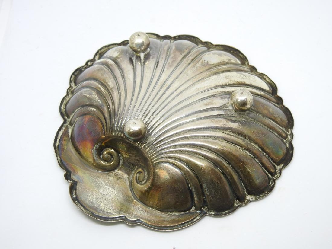 GORHAM OYSTER SHELL Dish Bowl STERLING SILVER - 2