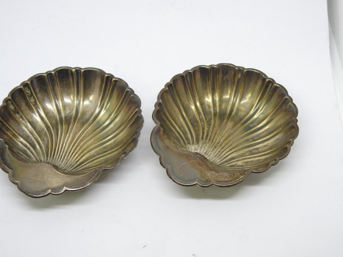 GORHAM OYSTER SHELL Dish Bowl Set STERLING SILVER