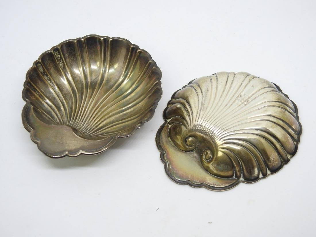 GORHAM OYSTER SHELL Dish Bowl Set STERLING SILVER - 3