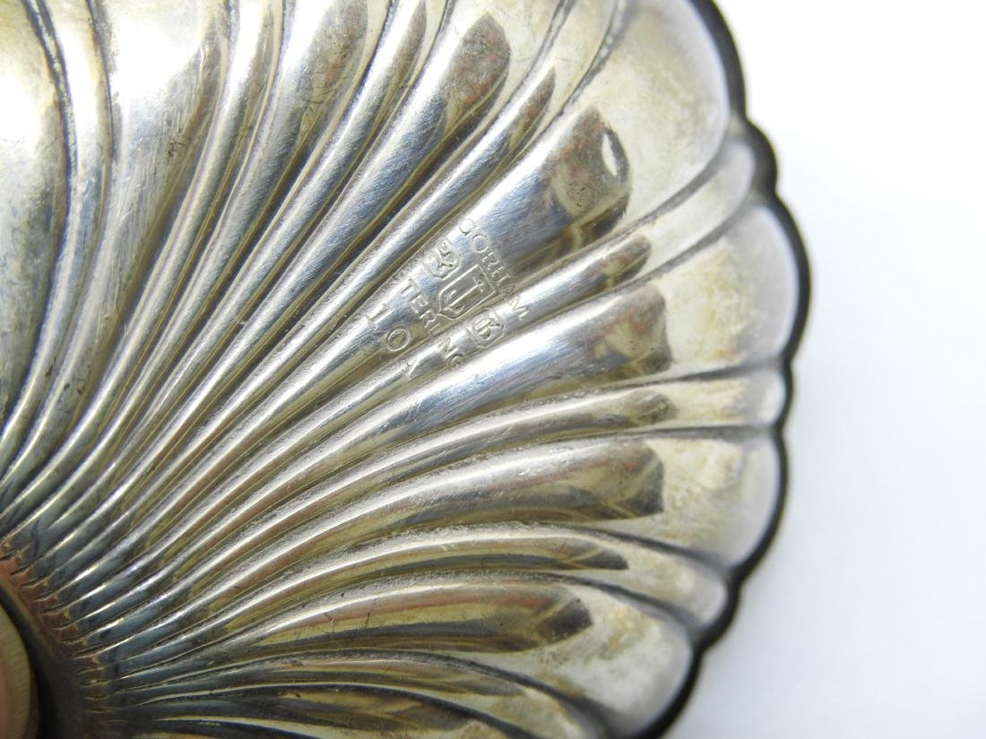 GORHAM OYSTER SHELL Dish Bowl Set STERLING SILVER - 4