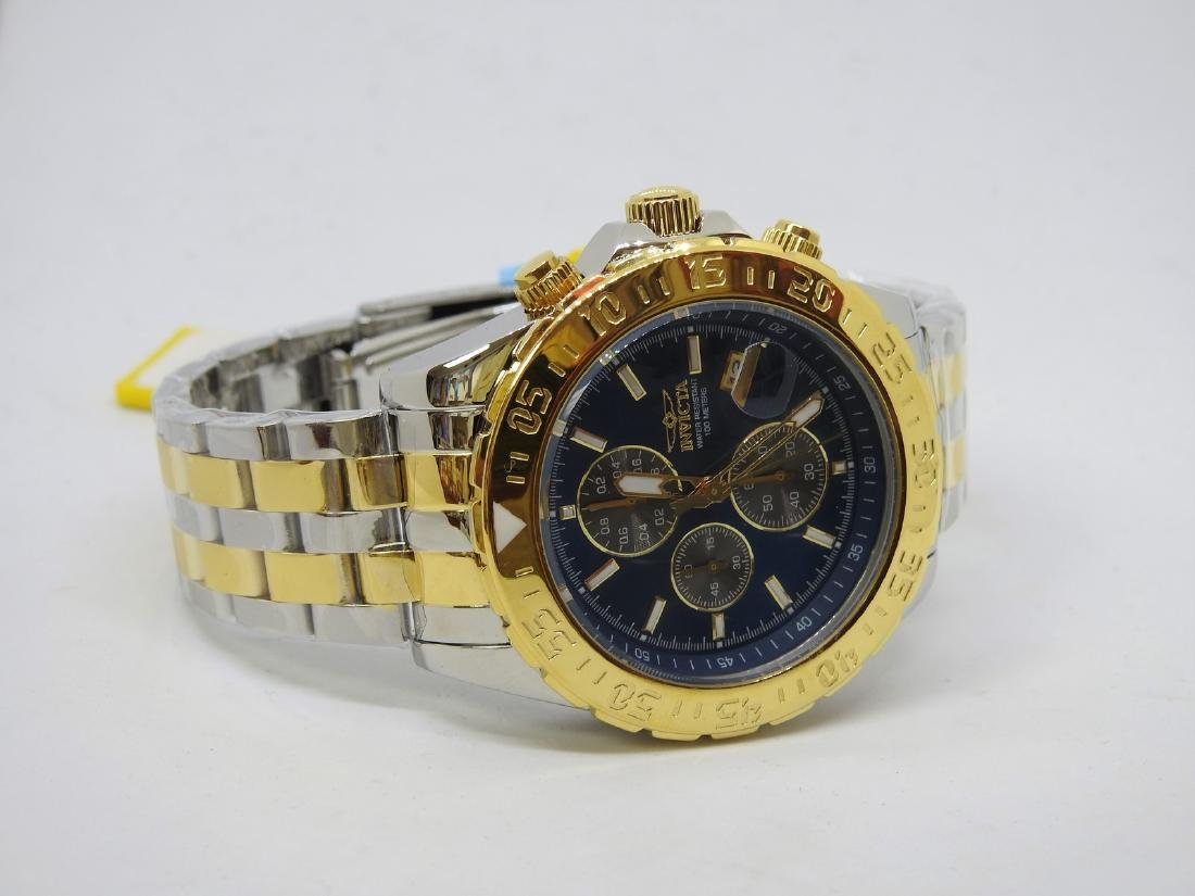 Invicta two tone chronograph watch - 2