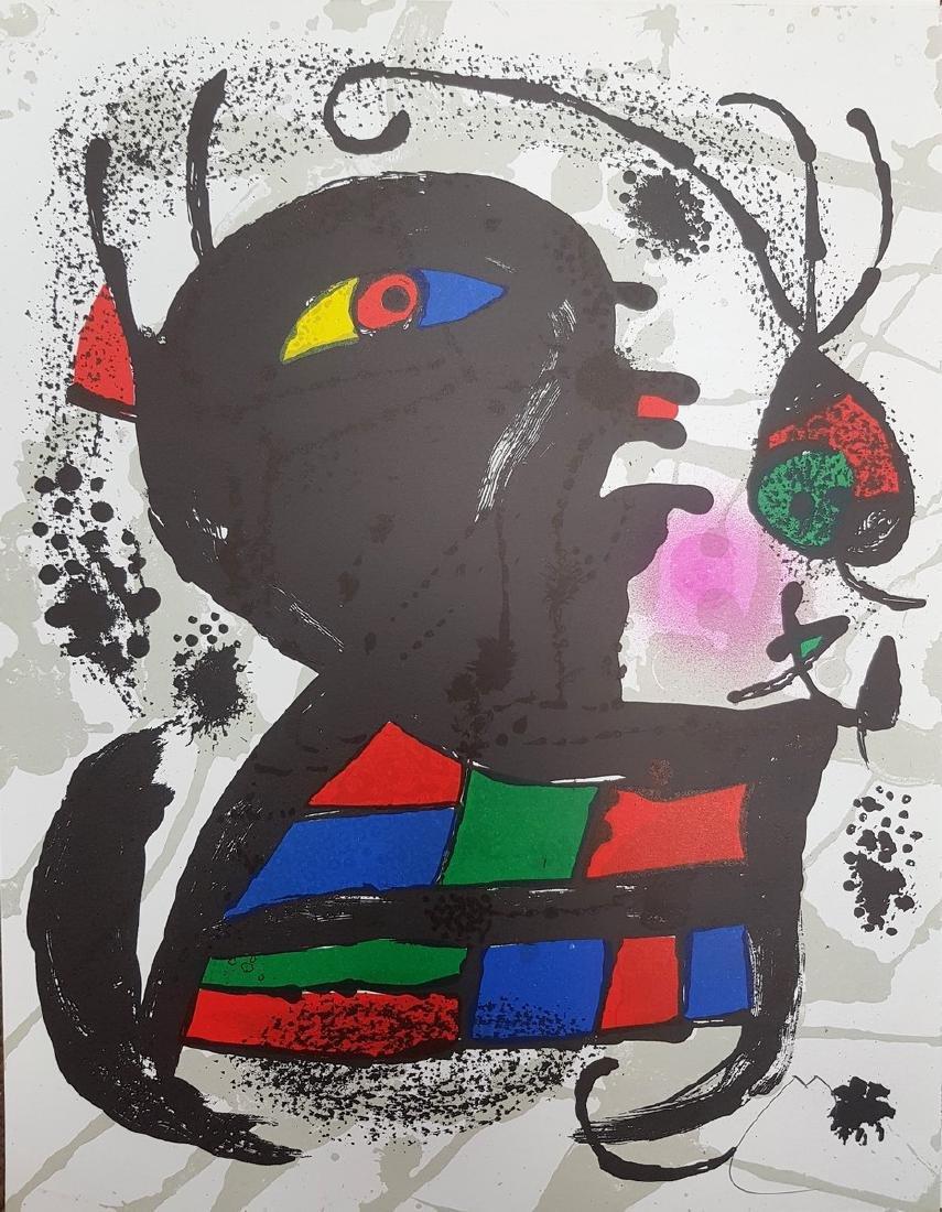 Joan MIRO (1893-1983) lithograph